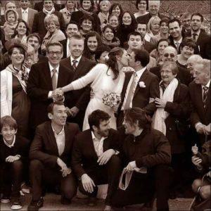 fotografo matrimonio foto gruppo